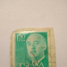 Sellos: SELLO FRANCO EDIFIL 1155 ESPAÑA 1'50 PESETAS.17. Lote 122156774