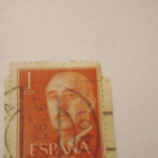 Sellos: SELLO FRANCO 1 PESETA ESPAÑA USADO.29. Lote 122157363