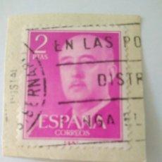 Sellos: SELLO 2 PESETAS FRANCO EDIFIL 1158 ESPAÑA.2. Lote 122173338