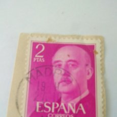 Sellos: SELLO 2 PESETAS FRANCO EDIFIL 1158.ESPAÑA 4. Lote 122173810