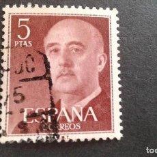 Sellos: ESPAÑA,1955-1956,GENERAL FRANCO,EDIFIL 1160,USADO,(LOTE AR). Lote 122174571