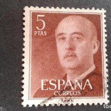 Sellos: ESPAÑA,1955-1956,GENERAL FRANCO,EDIFIL 1160,USADO,(LOTE AR). Lote 122174795