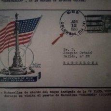 Sellos: 1953.MATASELLOS V FLOTA NORTEAMERICANA-COLUMBUS-. Lote 122607647