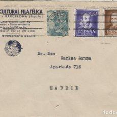 Sellos: SOBRE COMERCIAL. FILATELIA IBERIA CULTURAL FILATÉLICA , BARCELONA DEST MADRID . Lote 123070843
