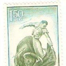 Sellos: SELLO ESPAÑA USADO. EDIFIL Nº 1263. TAUROMAQUIA. NATURAL. REF. 1U-1263. Lote 123282395