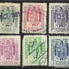 Sellos: ESPECIAL FACTURAS Y RECIBOS.. Lote 123284143