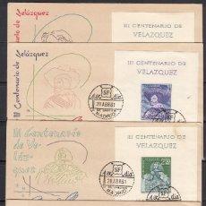 Sellos: 1961, SPD EXPOSICIÓN FILATÉLICA NACIONAL, , PRIMER DÍA ,EDIFIL Nº 1344 / 1347 . Lote 127590491