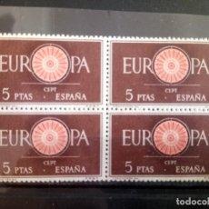 Sellos: ESPAÑA, 1960 EUROPA, 1259. Lote 127721735
