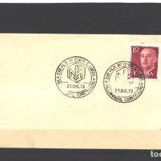 Sellos: ESPAÑA 1973 - SOBRE CONMEMORATIVO EXPO FILT. CENTRO C.LUISES - VILLARREAL - NUEVO. Lote 128139071
