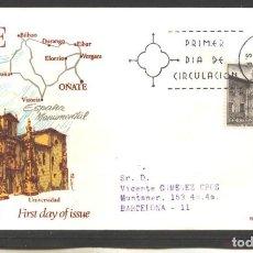 Sellos: ESPAÑA 1973 - FDC EDIFIL NRO. 2129 - TURISMOS - USADO. Lote 128144003