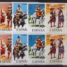 Sellos: EDIFIL Nº 2167-71, 20 SELLOS EN 4 BLOQUES DE 4, NUEVOS, SIN CHARNELA.. Lote 128874995