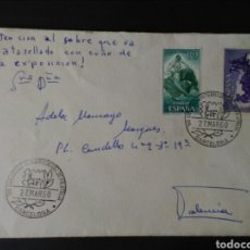 Sellos: 1 CONGRESO INTERNACIONAL DE FILATELIA. BARCELONA. 1960.. Lote 129364424