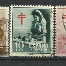 Sellos: ESPAÑA SELLO USADO 1953(25 CT. TALADRADDO). Lote 134085534