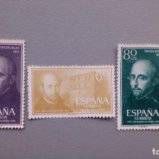 Sellos: ESPAÑA - 1955 - EDIFIL 1166/1168 - SERIE COMPLETA - MNG - NUEVOS - SAN IGNACIO DE LOYOLA.. Lote 134549682