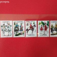 Francobolli: LOTE DE 5 SELLOS NUEVOS GOMA ORIGINAL SIN CHARNELA ESPAÑA EDIFIL 2236 2237 2238 2239 2240 AÑO 1975. Lote 135669063