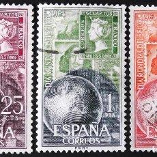 Sellos: EDIFIL 1595-97, SERIE EN USADO, LIMPIA.. Lote 136197406