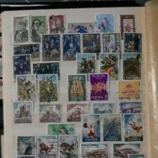 Sellos: ESPAÑA AÑO COMPLETO 1972 EN USADO. EDIFIL 2071 A 2116. Lote 136876478
