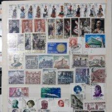 Sellos: ESPAÑA AÑO COMPLETO 1970 EN USADO. EDIFIL 1949 A 2007. Lote 136904854
