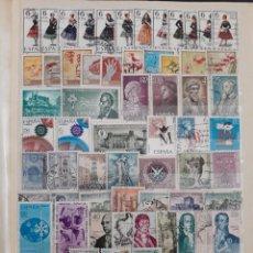 Sellos: ESPAÑA AÑO COMPLETO 1967 EN USADO. EDIFIL 1767 A 1838. Lote 137192838