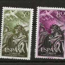 Sellos: R60/ ESPAÑA EDIFIL 1187/90*, 1956, ... ALZAMIENTO NACIONAL. Lote 137210630