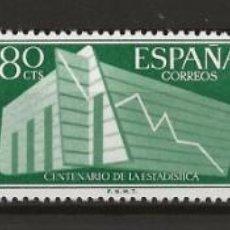 Sellos: R60/ ESPAÑA, EDFIL 1196/98 *, 1956, I Cº DE LA ESTADISTICA ESPAÑOLA. Lote 137210986