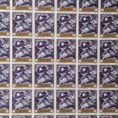 Sellos: EDIFIL 1710, 220 SELLOS EN 4 BLOQUES, NUEVOS, SIN CHARNELA, PERFECTOS.. Lote 138934814