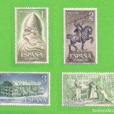 Sellos: EDIFIL 1444-1445-1446-1447. RODRIGO DÍAZ DE VIVAR, ''EL CID''. (1962).** NUEVOS - COMPLETA.. Lote 139705746