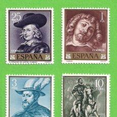 Sellos: EDIFIL 1434-1435-1436-1437. PEDRO PABLO RUBENS. (1962).** NUEVOS SIN FIJASELLOS - SERIE COMPLETA.. Lote 139739718