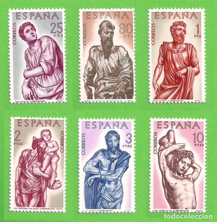 EDIFIL 1438-1439-1440-1441-1442-1443. ALONSO DE BERRUGUETE (1962).** NUEVOS SIN FIJASELLO - COMPLETA (Sellos - España - II Centenario De 1.950 a 1.975 - Nuevos)