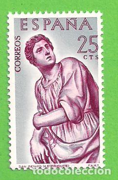 Sellos: EDIFIL 1438-1439-1440-1441-1442-1443. ALONSO DE BERRUGUETE (1962).** NUEVOS SIN FIJASELLO - COMPLETA - Foto 2 - 139741614