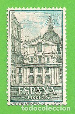 Sellos: EDIFIL 1382-1383-1384-1385-1386-1387. REAL MONASTERIO DE SAN LORENZO DE EL ESCORIAL. (1961).** NUEVO - Foto 2 - 139743002