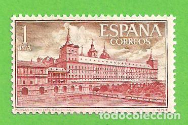 Sellos: EDIFIL 1382-1383-1384-1385-1386-1387. REAL MONASTERIO DE SAN LORENZO DE EL ESCORIAL. (1961).** NUEVO - Foto 4 - 139743002