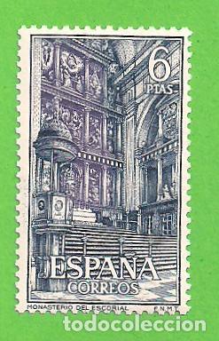 Sellos: EDIFIL 1382-1383-1384-1385-1386-1387. REAL MONASTERIO DE SAN LORENZO DE EL ESCORIAL. (1961).** NUEVO - Foto 7 - 139743002