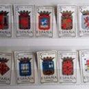 Sellos: ESPAÑA 1962-66. 10 SELLOS NUEVOS, ESCUDOS CAPITALES DE ESPAÑA . Lote 139762318