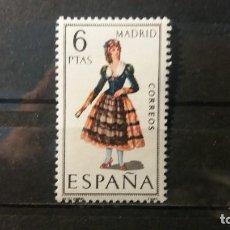 Sellos: 1969. TRAJES TIPICOS ESPAÑOLES. MADRID. EDIFIL 1904. 8 DE JULIO DE 1969.. Lote 140143874
