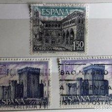 Sellos: ESPAÑA 1969, 3 SELLOS USADOS . Lote 140330526