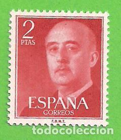 EDIFIL 1157. GENERAL FRANCO. (1955-1956).** NUEVO SIN FIJASELLOS. (Sellos - España - II Centenario De 1.950 a 1.975 - Nuevos)