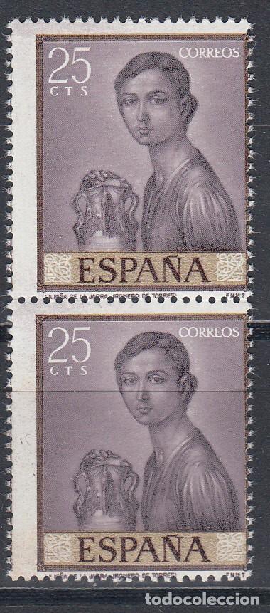 ESPAÑA,EDIFIL Nº 1657 DHF, VARIEDAD DE PERFORACIÓN, PERFORACIÓN DESPLAZADA LATERALMENTE, (Sellos - España - II Centenario De 1.950 a 1.975 - Nuevos)