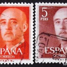 Sellos: EDIFIL 1290-91, SERIE USADA. FRANCO (AÑO 1960).. Lote 141762402