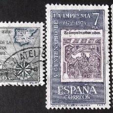 Sellos: EDIFIL 2164-66, SERIE COMPLETA USADA. IMPRENTA (AÑO 1973).. Lote 142514094