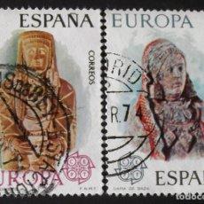 Sellos: EDIFIL 2177-78, SERIE COMPLETA USADA. EUROPA (AÑO 1974).. Lote 142647710