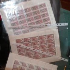 Sellos: SELPOS ESPAÑA (3 PLIEGOS DE 25V; 75V) NUEVOS/1968/MONASTERIO SANTA MARIA PARRAL/EDIFIL: 1894-96. Lote 143064248