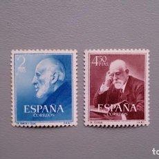 Sellos: ESPAÑA - 1952 - EDIFIL 1119/1120 - SERIE COMPLETA - MNH** - NUEVOS - VALOR CATALOGO 48€.. Lote 143747522