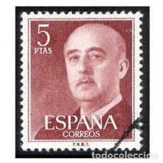 Francobolli: ESPAÑA 1955-56. EDIFIL 1160. GENERAL FRANCO. USADO. Lote 144283826