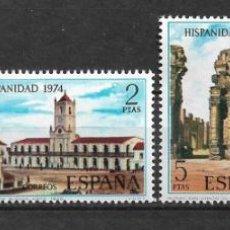 Selos: ESPAÑA 1974 EDIFIL 2213/2216 ** MNH - 12/24. Lote 144537402