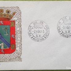 Sellos: ESPAÑA SPAIN SOBRES PRIMER DÍA FDC 1965 SÁHARA. Lote 144558234