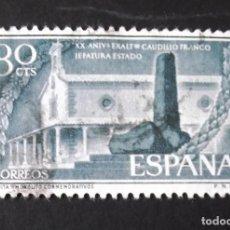 Sellos: 1199, SERIE USADA. JEFATURA DEL ESTADO: FRANCO (1956).. Lote 144700630