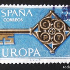 Sellos: 1868, SERIE USADA. EUROPA-CEPT (1968).. Lote 155288454