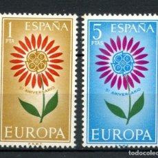 Sellos: ESPAÑA 1964 ** MNH EUROPA CEPT - 12/5. Lote 145128346