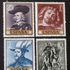 Sellos: 1434-37, SERIE NUEVA, SIN CH. PINTURA: RUBENS (1962).. Lote 145332982